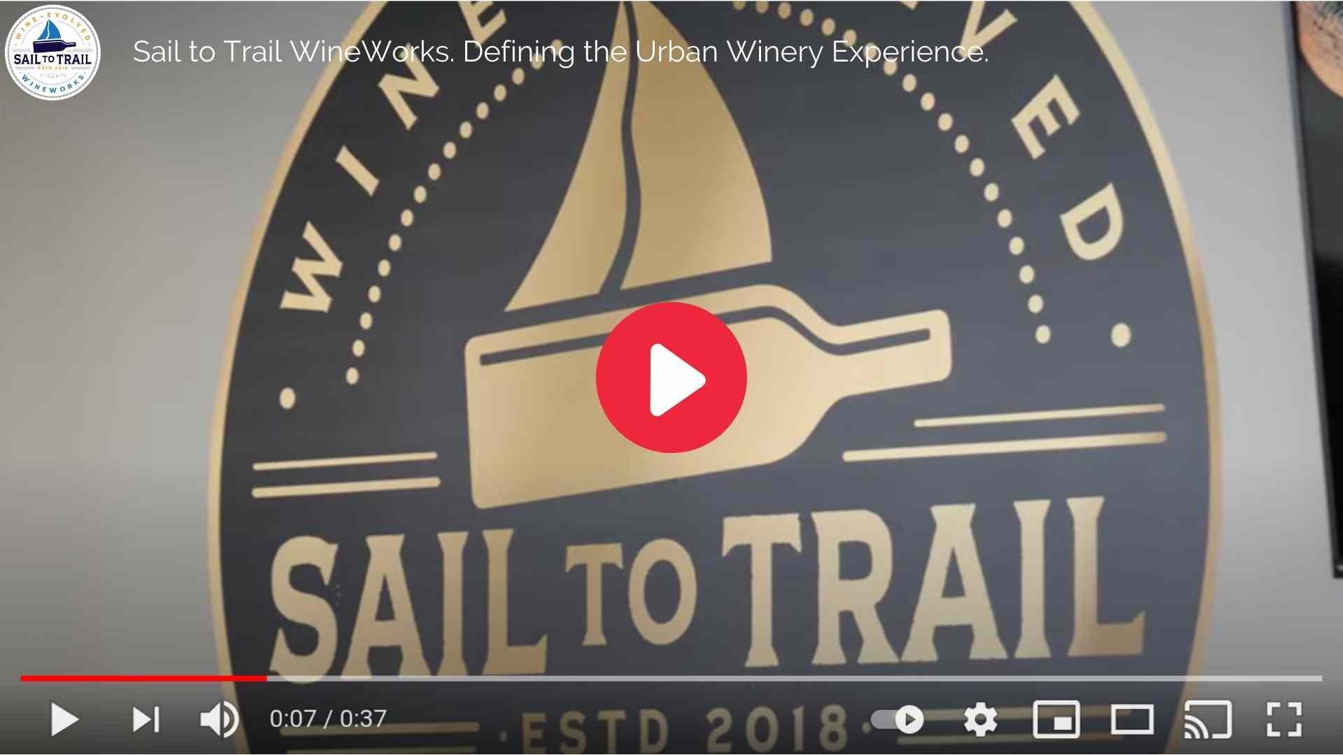 A superb video about the Sail to Trail Tasting Experience.