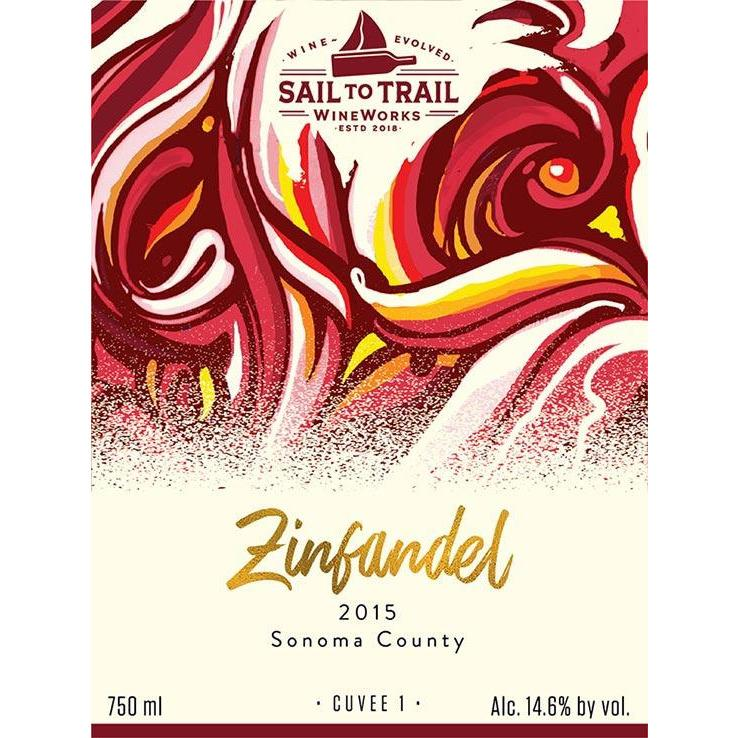 2015 ZINFANDEL, SONOMA COUNTY, CA - Sail to Trail WineWorks