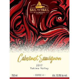 2017 CABERNET SAUVIGNON, YAKIMA VALLEY, WA - Sail to Trail WineWorks