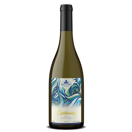 2017 CHARDONNAY, YAKIMA VALLEY, WA - Sail to Trail WineWorks