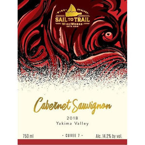 2018 CABERNET SAUVIGNON, YAKIMA VALLEY, WA (V) - Sail to Trail WineWorks