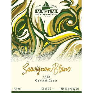 2019 SAUVIGNON BLANC, CENTRAL COAST, CA - Sail to Trail WineWorks