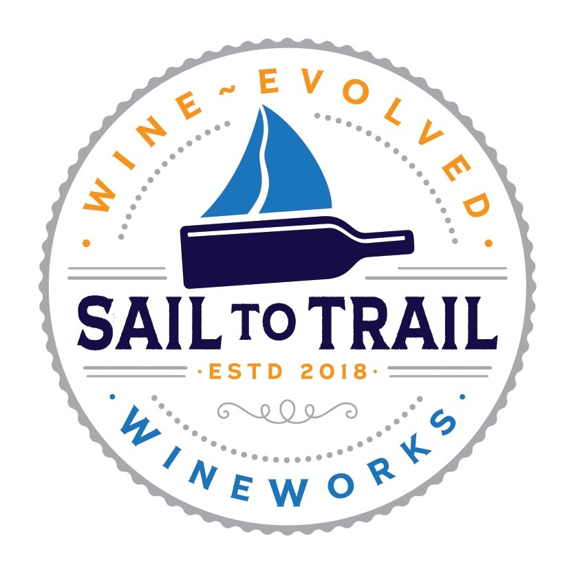 STICKERS - Sail to Trail WineWorks