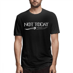Game Of Thrones Tee Shirt Arya Stark NOT TODAY - Unisex