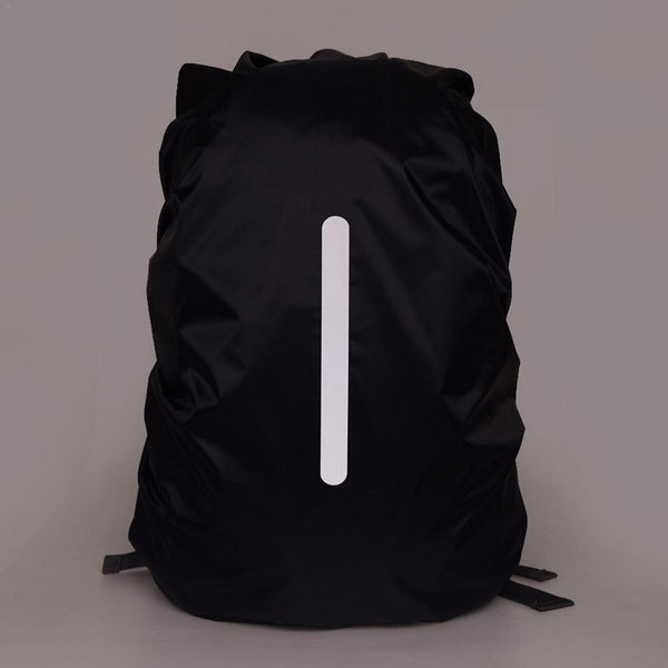 85eb60dab204 Reflective Waterproof Backpack Rain Cover Outdoor Night Safety Light  Raincover Case Bag