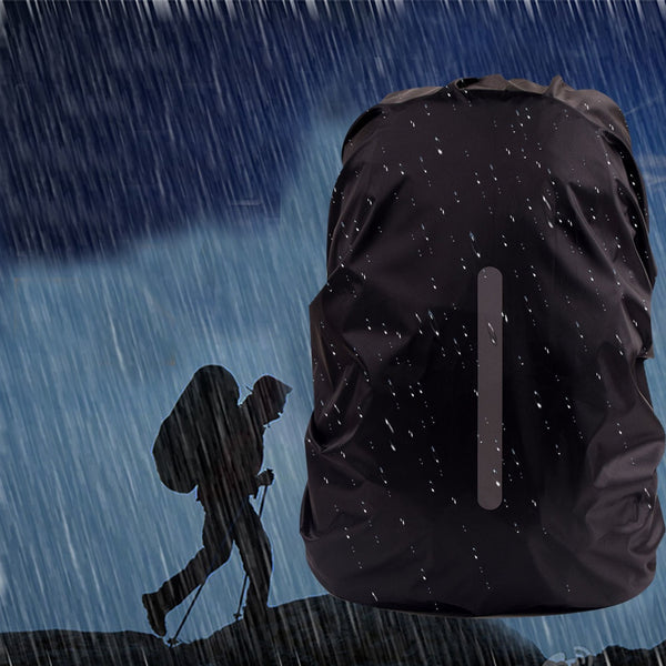 a337c59bce3b Reflective Waterproof Backpack Rain Cover Outdoor Night Safety Light R -  Wise Sells