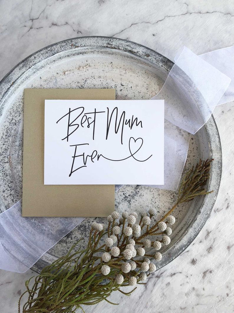 Best Mom Ever, Gift for Mum, Mother's Day Gift