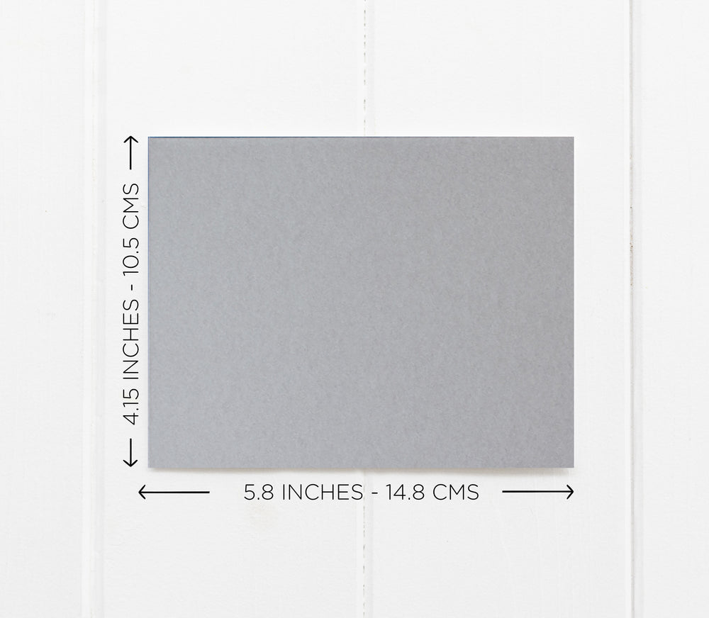 Grey Happy Fifth Anniversary 5 Year Anniversary Card for Wife