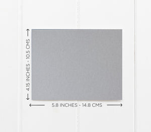 Grey and White To My Parents on My Wedding Day Card