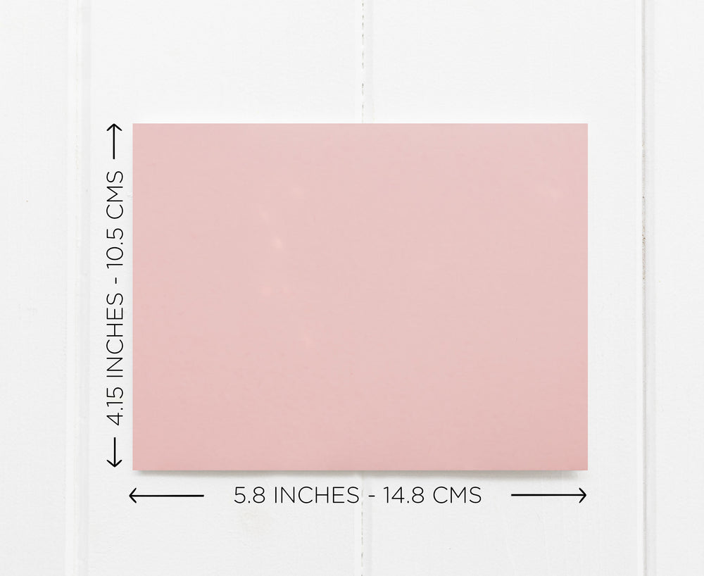 Blush Pink To My Bride Wedding Day Card From groom, Simple Keepsake Card