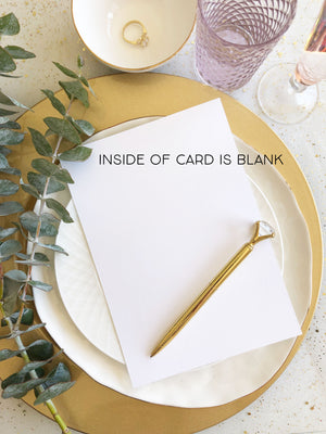 To My Maid of Honor on My Wedding Day Wedding Card, Maid of Honour Wedding Card