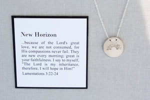 New Horizon | Lamentations 3:22-24