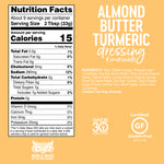Almond Butter Turmeric Dressing Whole30 Approved®