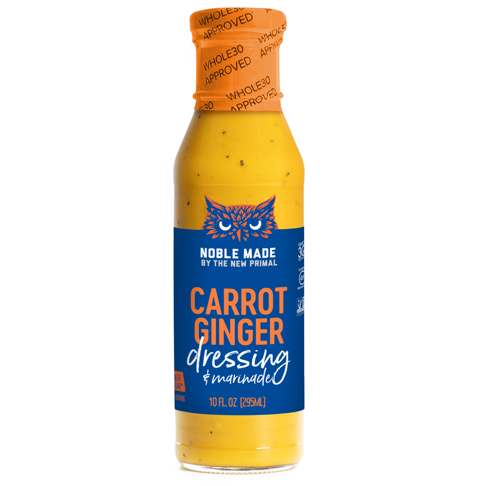 Carrot Ginger Salad Dressing Whole30 Approved®