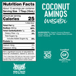 Wasabi Coconut Aminos Whole30 Approved®