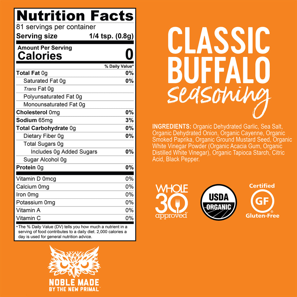 Buffalo Variety Pack <br> Whole30 Approved®
