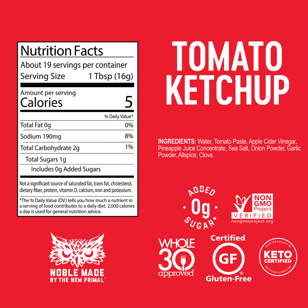 Tomato Ketchup Whole30 Approved®