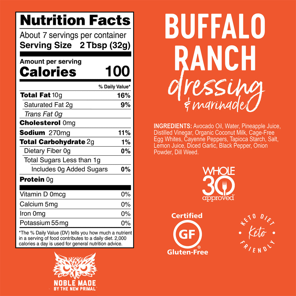 Buffalo Ranch Dressing