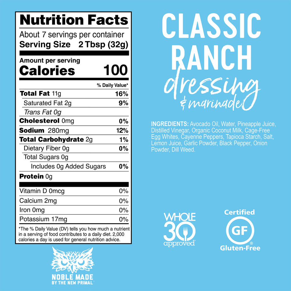 Ranch Dressing Sampler
