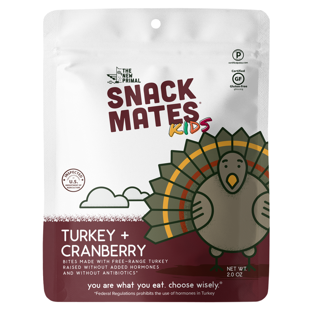 Snack Mates Turkey and Cranberry Bites (1 Bag)