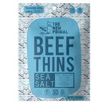 Sea Salt Beef Thins <br> 100% Grass-Fed Beef <br> Whole30 Approved® (1 Bag)