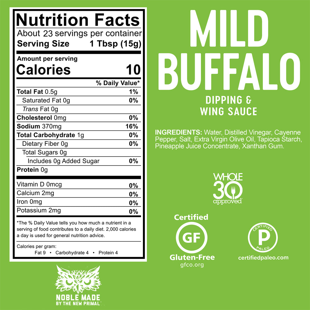 Mild Buffalo Sauce Whole30 Approved®