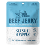 Sea Salt & Pepper Jerky 100% Grass-Fed Beef (1 Bag)