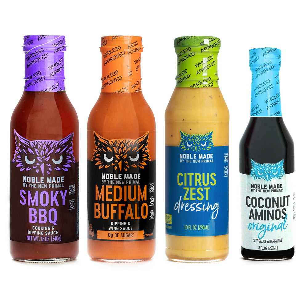 Zesty Whole30 Approved® Sauces Bundle