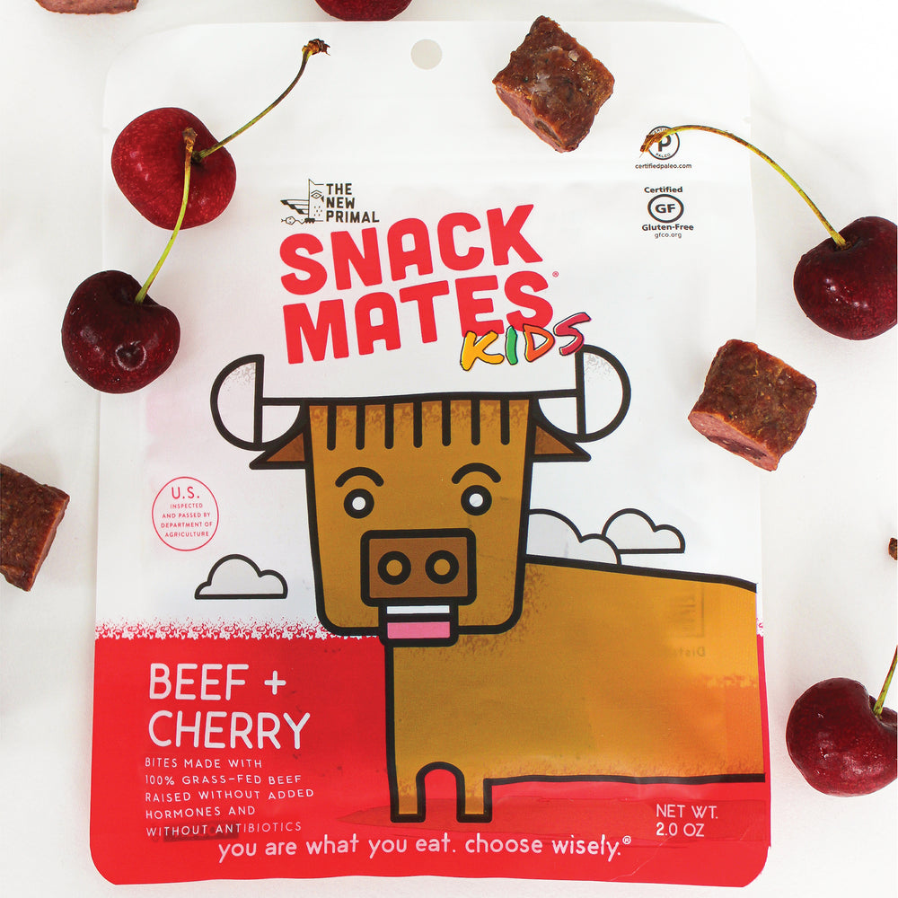 Snack Mates <br> Beef and Cherry Bites (1 Bag)