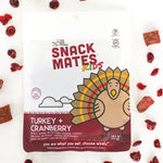 Snack Mates Turkey and Cranberry Bites (8 Bags)