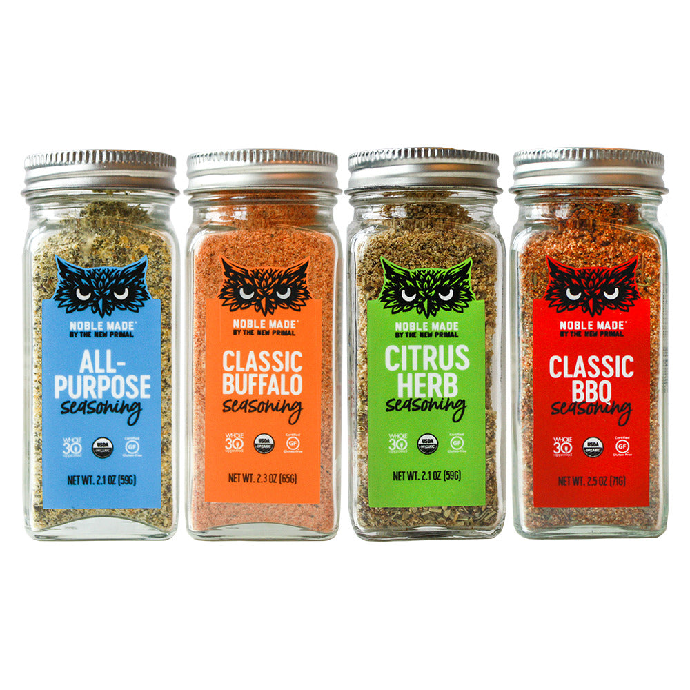 Seasoning Samplers by The New Primal