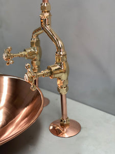 Alpha Y mixer Taps