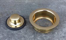 Load image into Gallery viewer, Brass Sink Plug - 3.5 Inch Waste