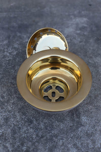 Brass Strainer Waste - 3.5 Inch