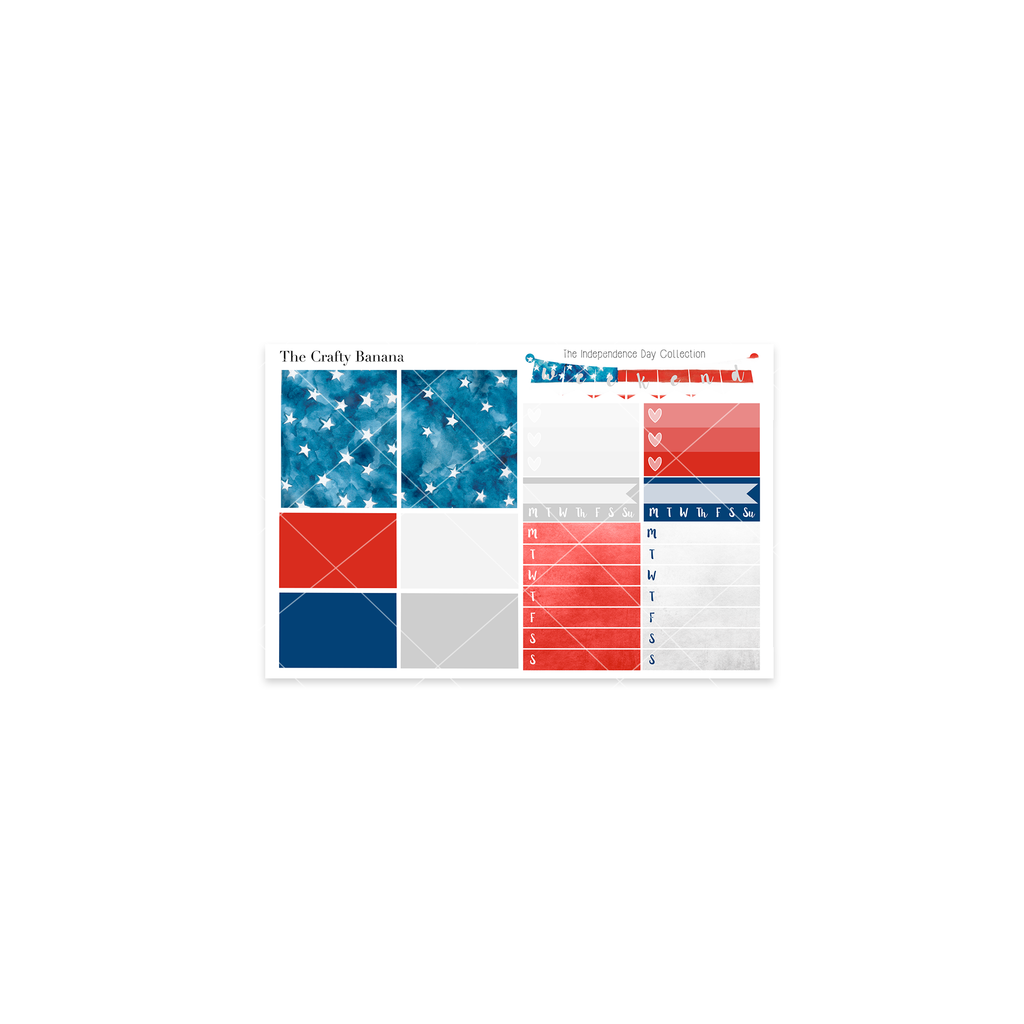 Independence Day Collection: Washi Sampler