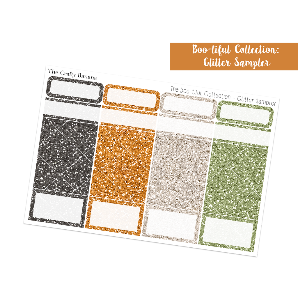 Boo-tiful Collection: Glitter Sampler