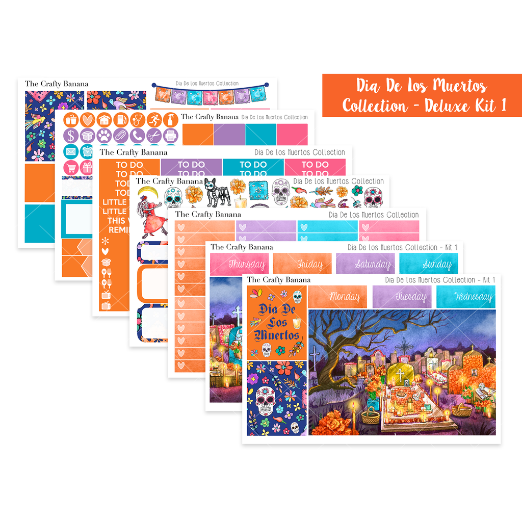 Dia De Los Muertos Collection: Deluxe Kit 1