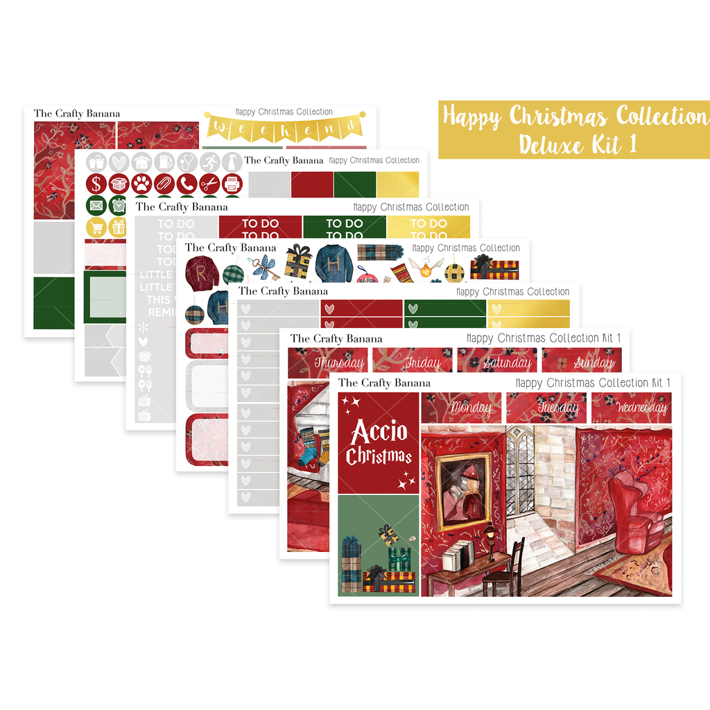 Happy Christmas Deluxe Kit 1 - The Scene