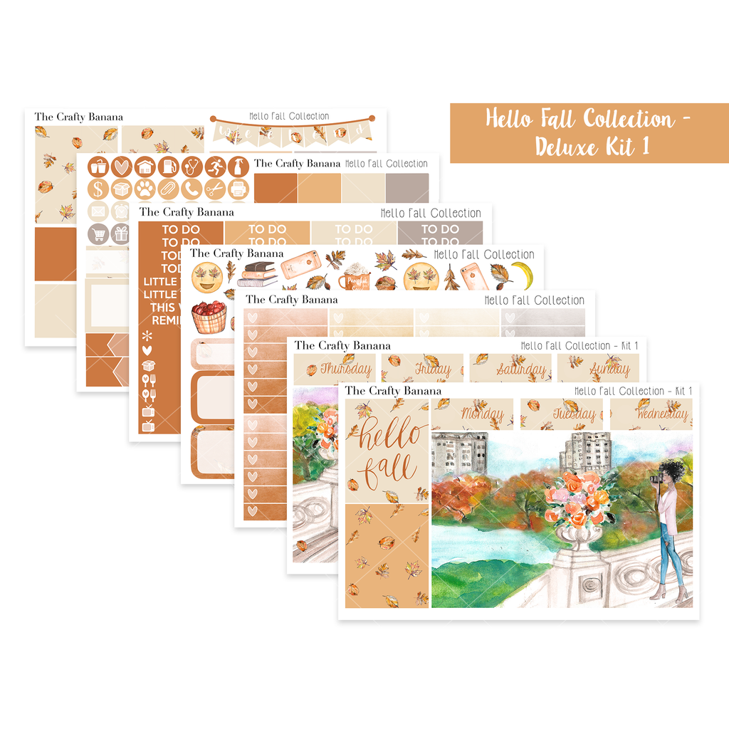 Hello Fall Collection: Deluxe Kit 1