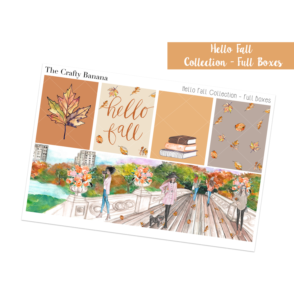 Hello Fall Collection: Full Boxes