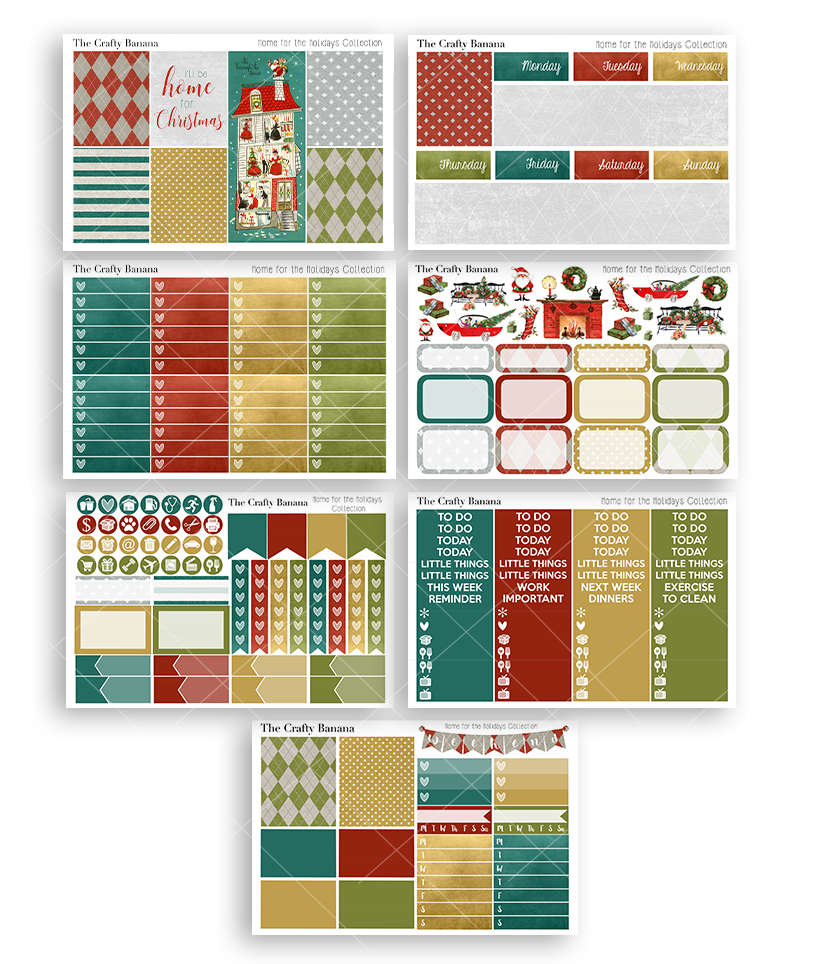 Home for the Holidays Deluxe Kit