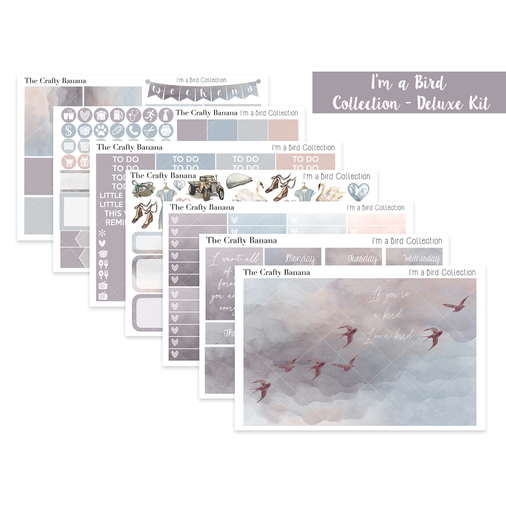 I'm a Bird Collection: Deluxe Kit