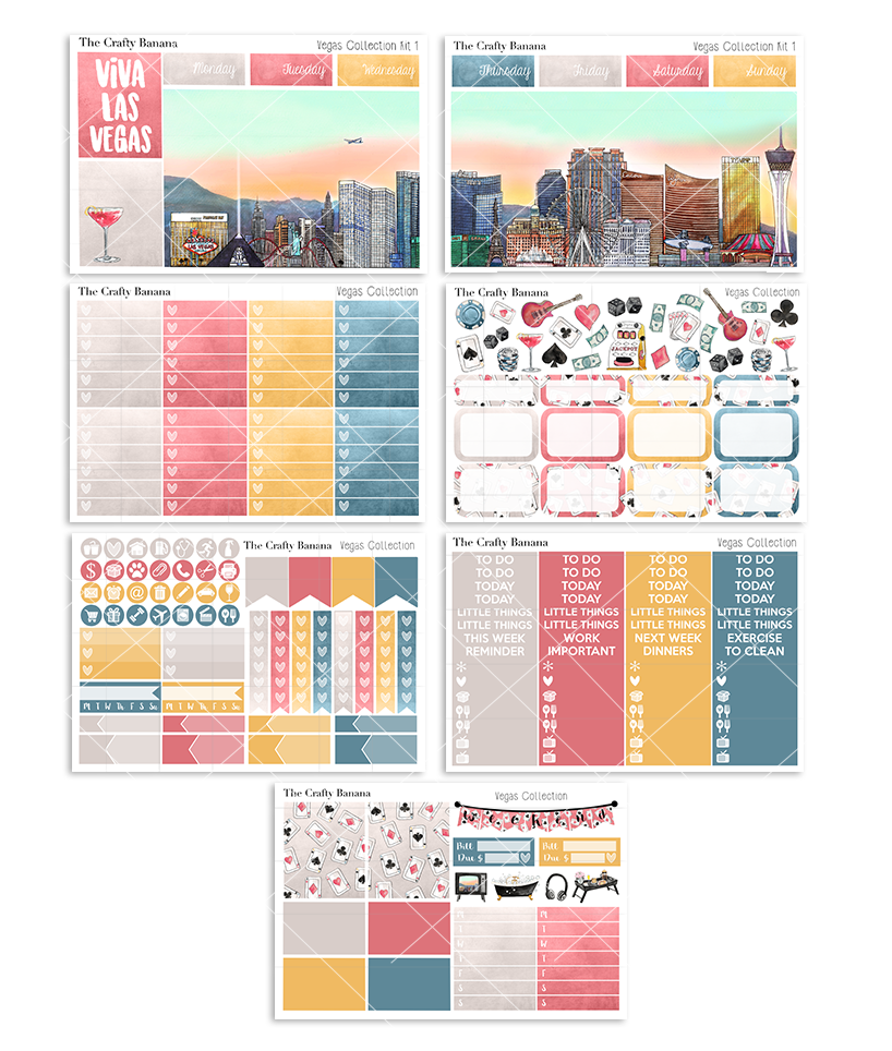 Vegas Collection Deluxe Kit 1 - The Las Vegas Scene