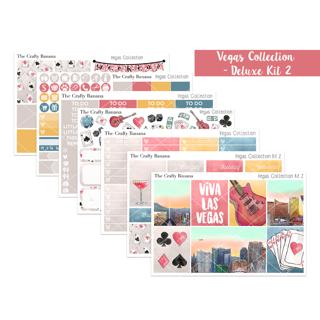 Vegas Collection Deluxe Kit 2 - The Original Full Boxes