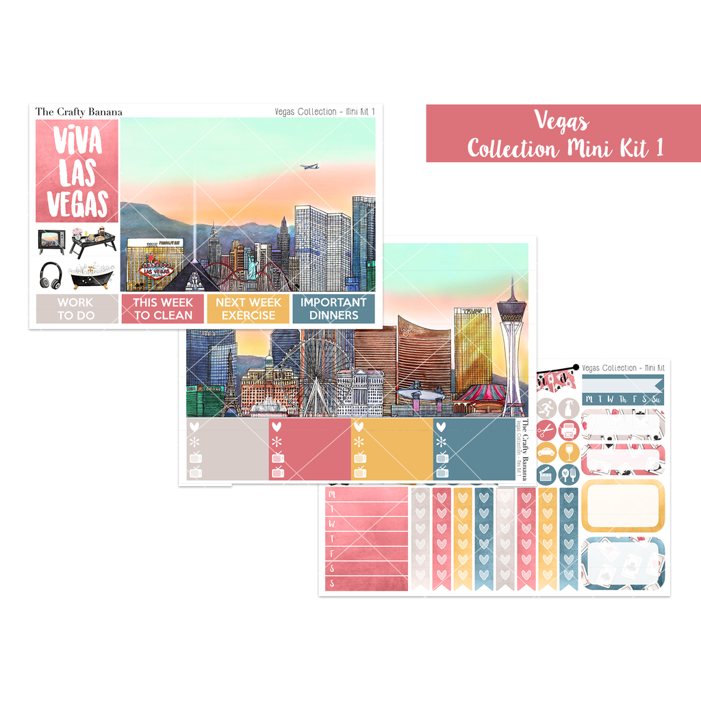 Vegas Collection Mini Kit 1 - The Las Vegas Scene
