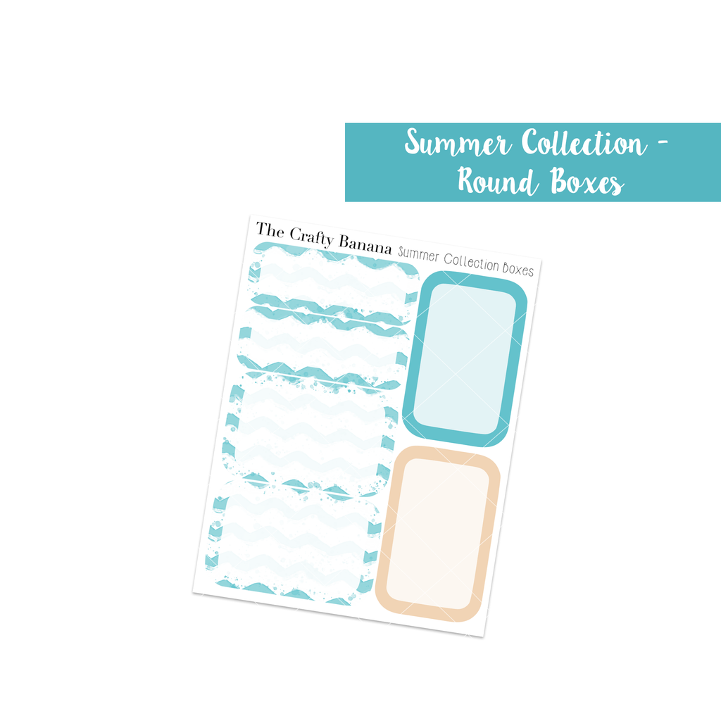 Summer Collection: Round Boxes
