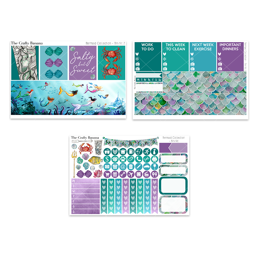 Mermaid Collection: Mini Kit 2