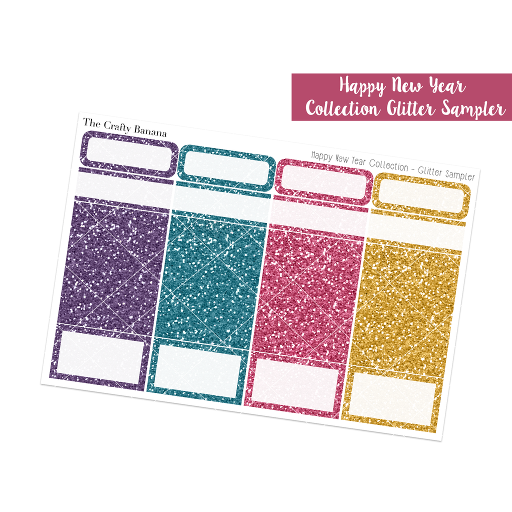 Happy New Year Collection: Glitter Sampler