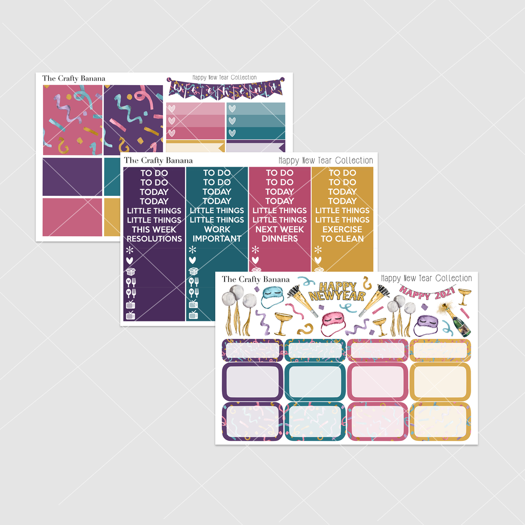 *Happy New Year Collection: Deluxe Kit Multiple Sheets