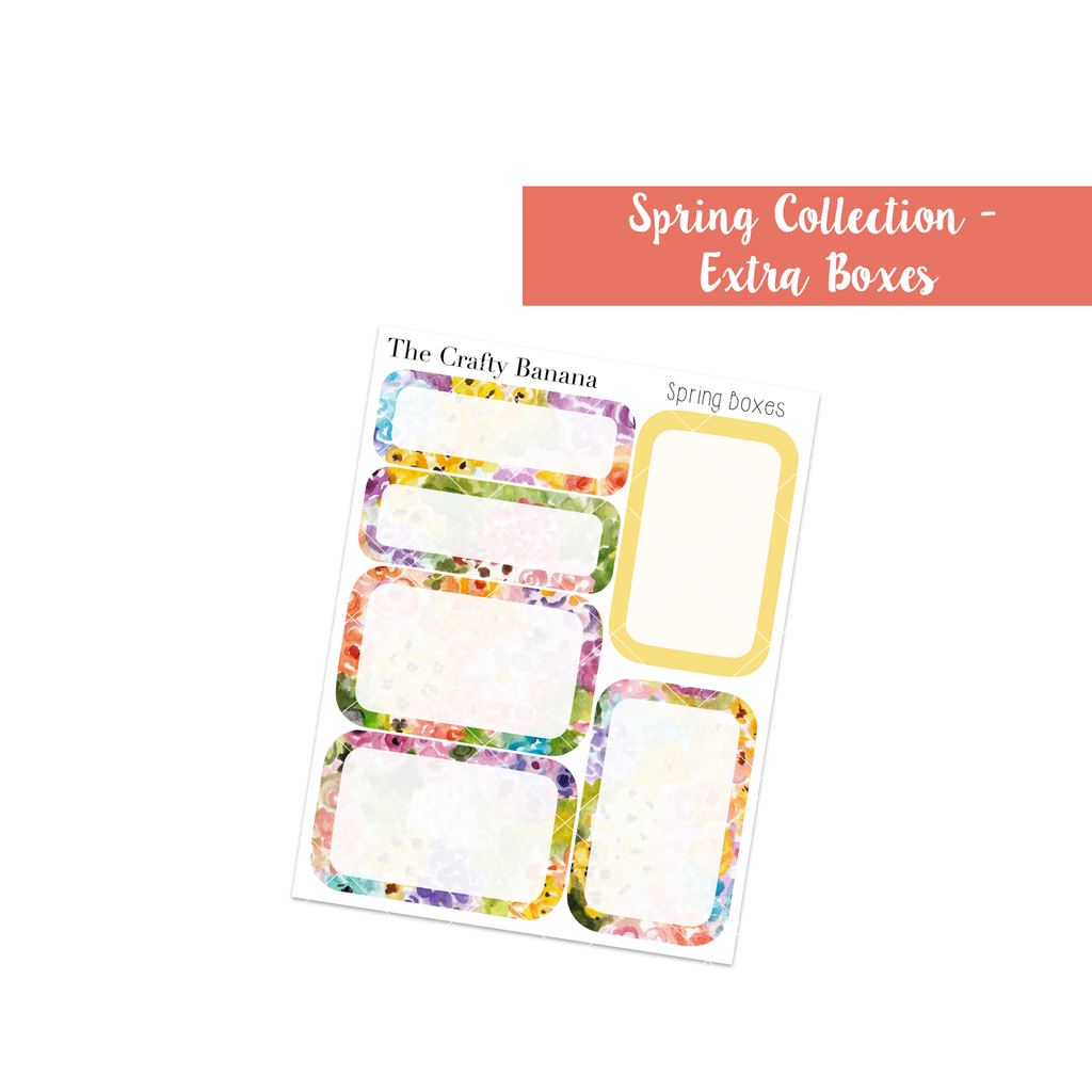 Spring Collection: Round Boxes